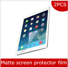 2PC/Pack film for apple 2017 iPad 9.7 protective matte screen protector for ipad air 1 2 Pro 9.7 together anti glare can track(China)