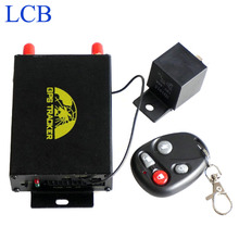 Coban Fuel Sensor Real Time Car Vehicle Motorcycle GSM GPS Tracker with Remote control TK105B GPRS Tracker Device with Box