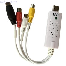 Simple UVC Video audio capture card for MAC, Linux Windows , no driver required, free shipping(China)