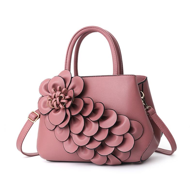 Nevenka Handbag Women Floral Handbags Small Shoulder Bags Leather Crossbody Bag for Women Handbags Purses and Handbags 201810