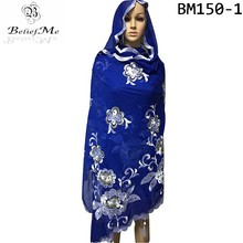 New Scraf with lots stones muslim women embroidery big scarf with tassels , Szie 2.2*1.05m long scarf suit for wraps pashmina(China)