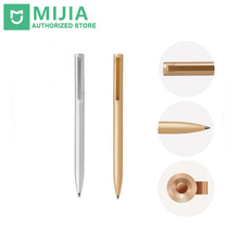 Buy Original Xiaomi New Mijia Metal Sign Pen Mijia Sign Pen Mijia Ink Japan Durable Signing Pen PREMEC Switzerland MiKuni Refill for $11.41 in AliExpress store