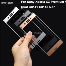 Buy Sony Xperia XZ Premium / Dual New 0.26mm 2.5D Ultra Thin Full Cover Premium Tempered Glass Front Screen Protector Film for $1.49 in AliExpress store
