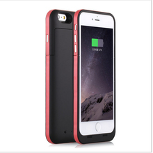 New 6 6s plus Extended Battery Case with Tempered Glass [6800mah] For iPhone 6 6Plus iPhone 6S Plus Case Battery Backup Charger
