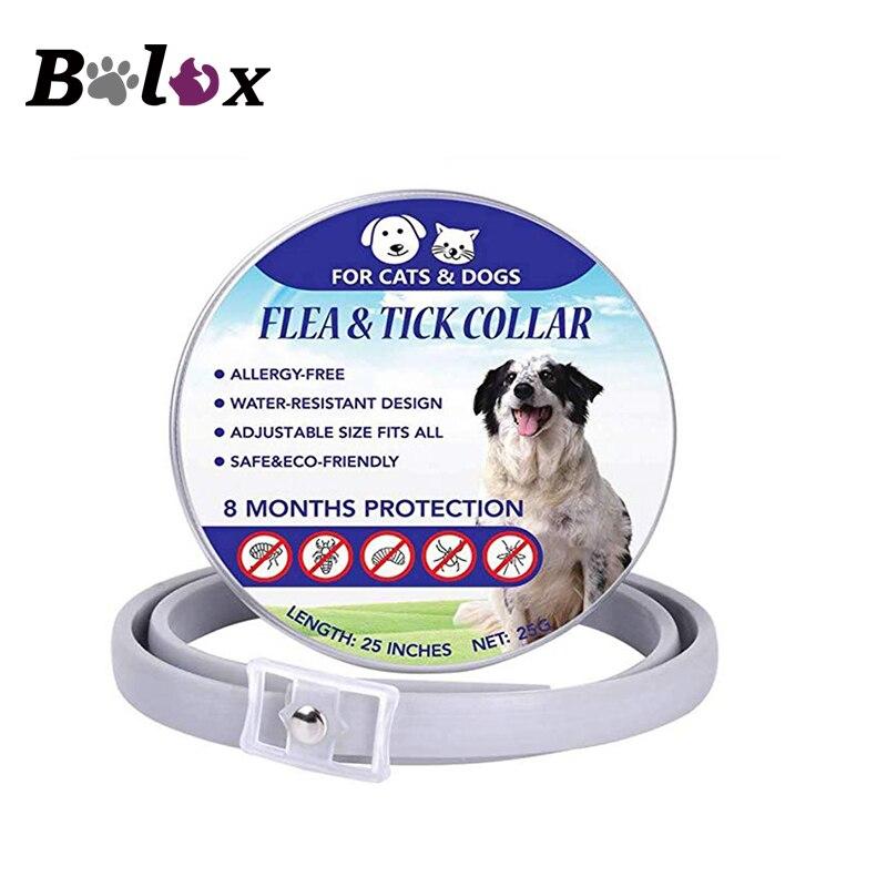 Dog Mosquito Repellent Collar Spring Summer  Anti Plague Mosquitoes Collar Adjustable Dog Collar Anti Flea Tick Repel Lice