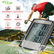 Bike Bicycle Computer Wireless Bicycle Speedometer  Waterproof  Stopwatch Backlight odometer Temperature Accessories battery