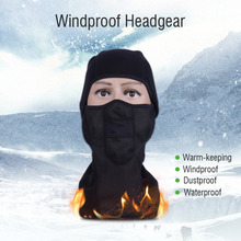Winter Warm Keeper Motorcycle Face Mask Dustproof Full Face Riding Moto Motorcross cycling Ski Sport Wind Cap Neck Face Mask(China)