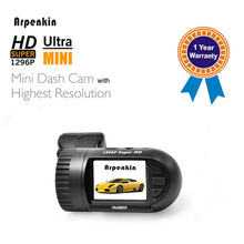 Arpenkin Mini 0805P Car Camera Dash Cam Mini0805P Capacitor G-sensor+Parking Monitor+Low Voltage And OverTemperature Protection(China)