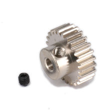 18T/19T/20T/21T/22T/23T/24T/25T/26T/29T Tooth Teeth Pinion Gear for 1/10 RC Model Car Modulus 0.6 Aperture 3.2mm Parts HPI HSP
