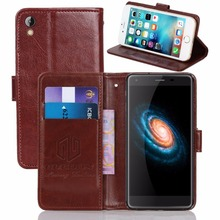 GUCOON Vintage Wallet Case for ARK Impulse P2 LTE 5.0inch PU Leather Retro Flip Cover Magnetic Fashion Cases Kickstand Strap(China)