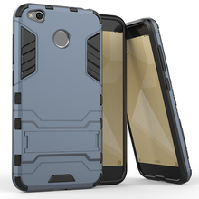 PC+PU Cell Phone Cases For Xiaomi Redmi 4X Redmi4x Military Armor Housing Bag For Xiaomi Redmi 4X Case Cover Hood Shell