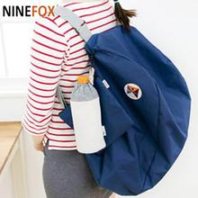 Free Shipping Splendid Designer Fashion Folding Storage Shoulder Bag Backpack Multifunctional Finishing Package Mochila Feminina