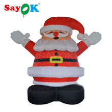 Giant 4m/13.1ft Tall Outdoor Inflatable Santa Claus Christmas Decor(China)