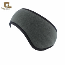 New Men Women Ear Warmer Winter Head Band Polar Fleece Ski Ear Muff Unisex Stretch Spandex(China)