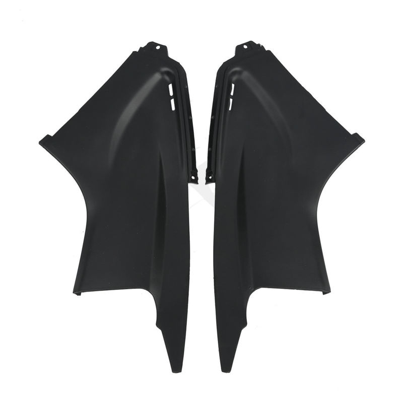 2 x Unpainted Black Air Fairing Dust Tube Covers Cowl For Yamaha YZF R6 YZF-R6 2003-2005 2004 <br>