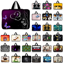 10.1 12 13 13.3 14 15.4 15.6 17.3 Laptop Notebook Computer PC Handle Sleeve Case Bag Cover Pouch For Samsung Sony Lenovo Asus