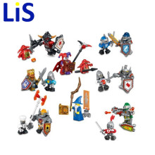 (Lis)8pcs/lot NEW Nexo Knights Future Shield Building Blocks Castle Warrior Nexus Kids Toys Gift Compatible With