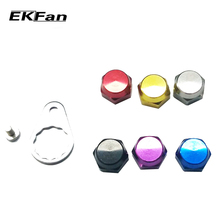 EKFan Left Hand Right Hand Crank Nut Screw With Plate For Fishing Reel Screw Cap For Daiwa ABU Reel