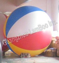 6.5FT Diameter Inflatable Beach Ball Helium Balloon for Advertisement/FREE Shipping/Different colors for your selection.(China)