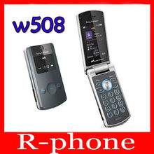 W508 Original Sony Ericsson W508 Unlocked Mobile Phone 3G 3.2MP Bluetooth MP3 Player Free Shipping(China)