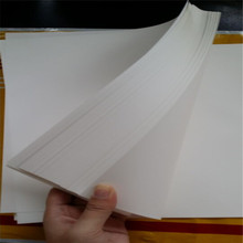 80gsm 75% cotton 25% linen paper without watermark and , business paper ,white color