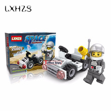 Exploration Curiosity Bricks Space Vehicle Car Toys Building Blocks Scientific Technological Education Toys(China)