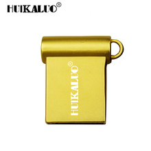 HUIKALUO USB Flash Drive Stainless Steel Mini Pendrive Memory Stick 4GB 8GB 16GB 32GB 64GB Metal Pendrive High Speed USB Stick