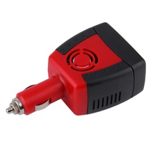 New 150W Red Car Auto Inverter Power Supply 12V DC to 220V 5V 2.1A AC Laptop Computer(China)