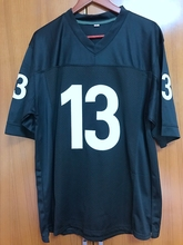WILLIE BEAMEN #13 ANY GIVEN SUNDAY MOVIE Jersey BLACK SEWN All stitched(China)