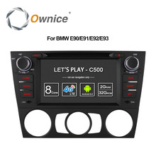 Ownice C500 4G SIM LTE Android 6.0 Octa 8 Core Car DVD For BMW 3 Series E90 E91 E92 E93 GPS Support Wifi Radio 2GB RAM 32GB ROM(China)