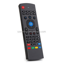 MX3/S77 PRO Aerb 2.4GHz Wireless Air Mouse Fly Mouse & QWERTY Keyboard GYRO Sensing Remote IR Learning for Android TV Computers(China)
