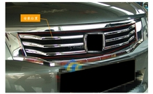 6PCS/SET Car Styling Trim Chromed Shape Front Lower Grille Trim For Honda Accord 2008 2009 2010 Z2AAL068