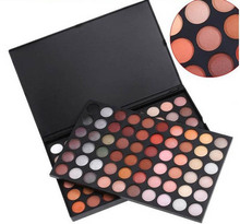 hot sale 120 Colors Ultra Shimmer Warm & Cool Eyeshadow Palette Eye Shadow Makeup Cosmetic set kit Free Shipping(China)
