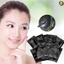 Skin care kill mite convergence pores Black Volcanic mud Facial face mask for Remove blackhead facial mask nose Acne remove 1Pcs