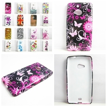 Butterfly flowers Owl UK FLAG US FLAG TPU Gel Silicone Case Cover for NOKIA LUMIA 535 Phone Cases Cover