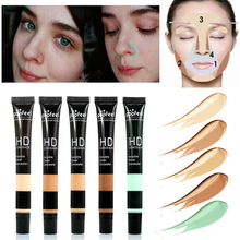 Base Maquiagem Make Up Face Concealer Cream Foundation Makeup Contour Concealer Stick for Light Dark Skin