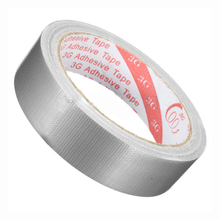 JFBL Adhesive tape Waterproof Adhesive Cloth Tape for footwear sealing Duct Color:silver gray Size:50Mm X 10M(China)