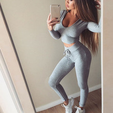 High Quality Women Sport Suits Tracksuits Woman Gym Fitness Jogging Suit Clothing 2 Piece Set Yoga Wear Tracksuit for Women