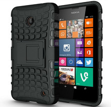 For Nokia Lumia 635 Case 636 638 N630 N635 Heavy Duty Armor Shockproof Hybrid Hard Rugged Rubber Phone Cover For Lumia 630