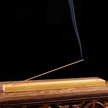 Bamboo Incense Burner Home Decor Handmade Joss Stick Incense Holder Aromatherapy Home Fragrance Lying Censer(China)