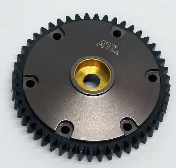 Aluminum / Hardened Steel 49T Spur Gear for HPI SAVAGE X 21 25 SS 4.6 MT2 18S<br><br>Aliexpress