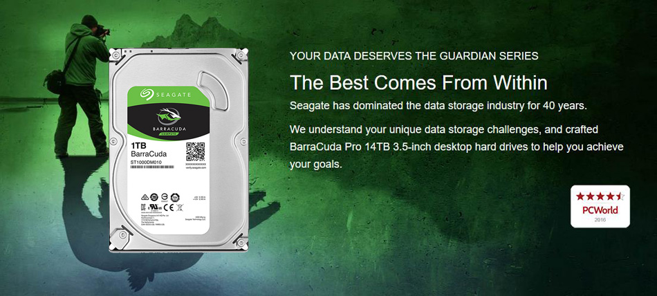 Seagate 1tb Hard Drive Disk HDD Desktop Internal HD (4)