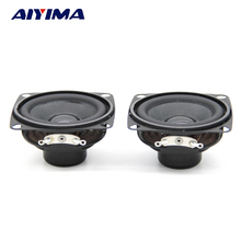 Aiyima 2PC 2inch Audio Speaker 53mm 4ohm 5W Bass Speaker Mini Multimedia Loudspeaker For Amplifier DIY(China)