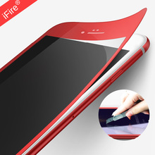 Buy RED Full Cover Films Red Tempered Glass iphone 7 Protective Screen Red PET Glass iPhone 6 6s Screen Protector for $1.65 in AliExpress store
