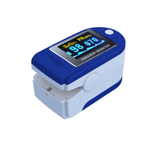 Free Shipping fingertip pulse oximeter spo2 monitor pulse oximeter module SPO2 and pulse rate with color box packing CMS50D
