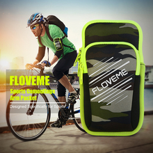 FLOVEME Arm Band Phone Case For iphone 7 6 Double Pouch Sports Running Bag Conque For Samsung S8 S8 Plus S6 S7 Edge Case Fundas