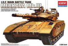 ACADEMY 13267 / 1391 1/35 Scale IDF Main battle tank Merkava MK.III Plastic Model Building Kit