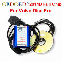 Newest 2014D For Volvo Vida Dice Full Chip Diagnostic Tool Multi-Language For Volvo Dice Pro Vida Dice Green Board Full Function