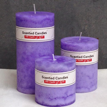Essential Oil Scented Candles Smokeless Party Craft Candlestick Bougies Et Chandelles Decorative Candle Pillar Bougies 710220