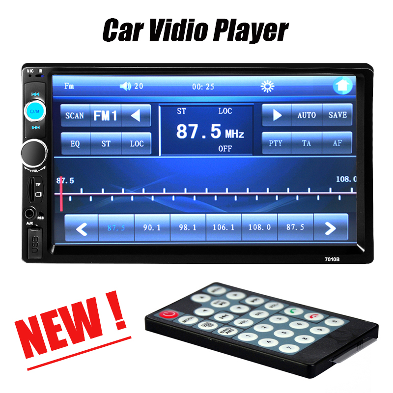 Camera! 2 Din Car Video Player DVD 7 HD Touch Screen Bluetooth Stereo Radio Car MP3 MP4 MP5 Audio USB Auto Electronics In Dash<br><br>Aliexpress